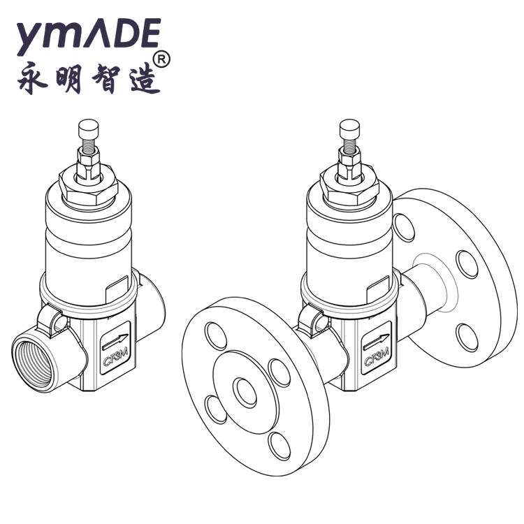708PE-SAX西门子电动小流量调节阀三维建模分析